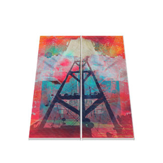 Twin Peaks Sutro Overload SanFrancisco Canvas Print