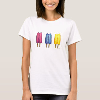 Twin Pop Frozen Popsicles Popsicle Treat Tee