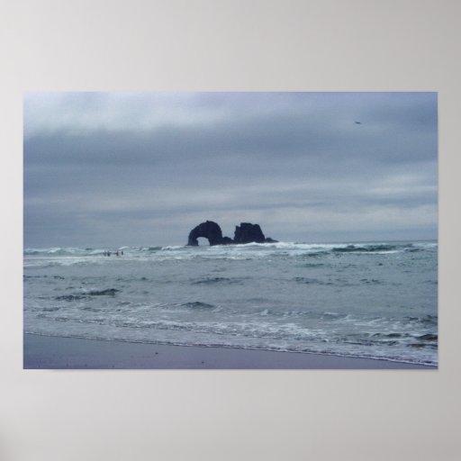 Twin Rocks Poster