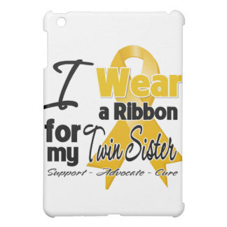 Twin Sister - Appendix Cancer Ribbon Case For The iPad Mini