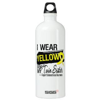 Twin Sister Yellow Ribbon Endometriosis SIGG Traveller 1.0L Water Bottle