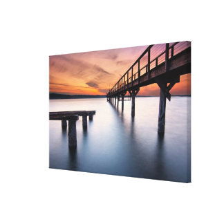 Twin Spits Canvas Print