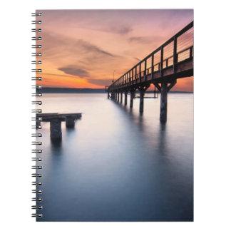 Twin Spits Spiral Notebook