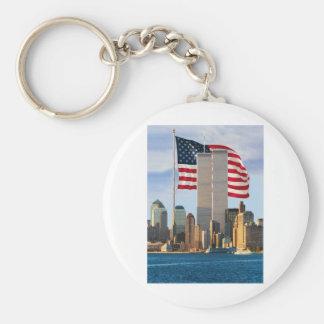 Twin Tower America Key Chain