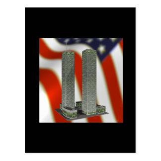 Twin Tower Memorial Postcard