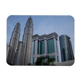 Twin towers Kuala Lumpur flexible magnets