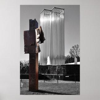 Twin Towers Memorial Poster