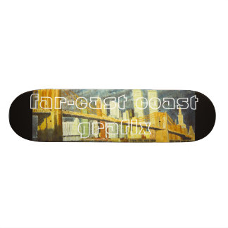 Twin Towers Skate Deck