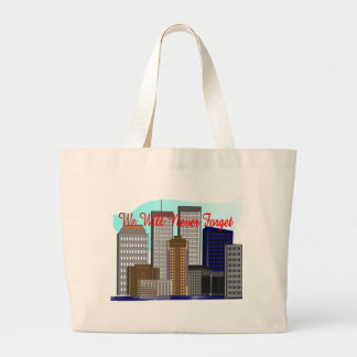 Twin Towers We Will Never Forget NY Bags