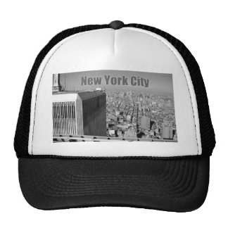 Twin towers World Trade Center NYC Cap