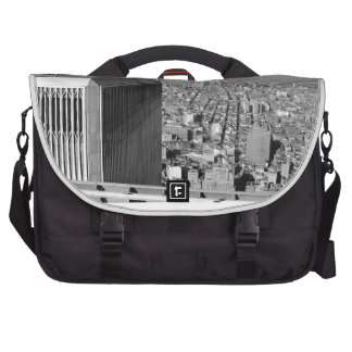 Twin towers World Trade Center NYC Laptop Computer Bag