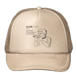 TWINK MESH HAT