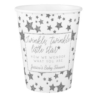 Twink, Twinkle Little Star Baby Shower Paper Cup