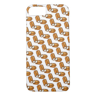 Twinkie Cream-Filled Snack Cake Foodie Print Gift iPhone 8/7 Case