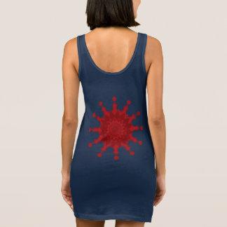 Twinkle geometry sleeveless dress