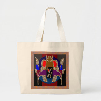 TWINKLE Gold n Silver Engraved Jewels Canvas Bags