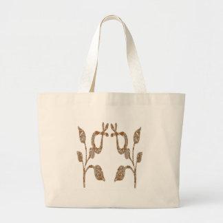 TWINKLE Gold n Silver Engraved Jewels Tote Bag