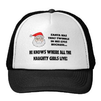 Twinkle In Santas Eye Cap