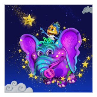 Twinkle Little Star 18x18 Poster