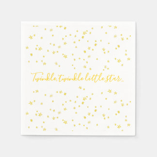 Twinkle Little Star Baby Shower Paper Napkins