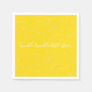 Twinkle Little Star Baby Shower Paper Napkins