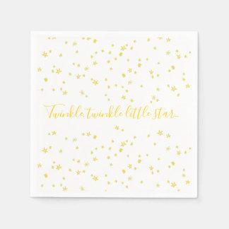 Twinkle Little Star Baby Shower Paper Napkins Paper Napkin