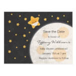 Twinkle Little Star Baby Shower Save the Date Postcard