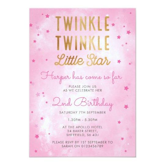 Twinkling Stars BrisCircumcision Invitation Zazzlecouk