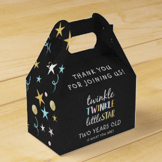 Twinkle Little Star Two Years Old Is What You Are! Favour Box