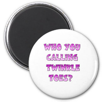 Twinkle Toes Fridge Magnet