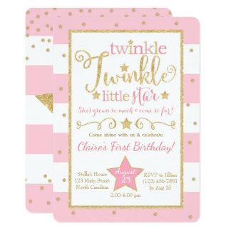 Twinkle Little Star Invitations Announcements Zazzlecouk
