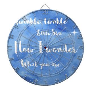 Twinkle Twinkle Little Star Dart Board