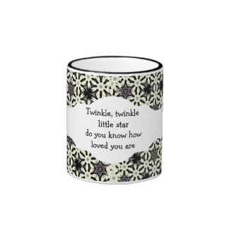 Twinkle twinkle little star do you know how loved mugs