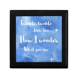 Twinkle Twinkle Little Star Gift Box