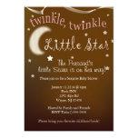 Twinkle, twinkle, little star 5x7 paper invitation card