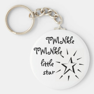 TWINkle TWINkle little star Key Ring