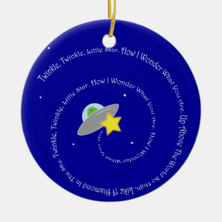 twinkle twinkle little star ornament