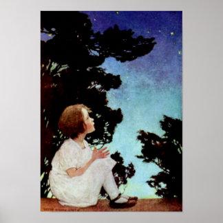 """""""Twinkle, Twinkle Little Star"""" Print"""