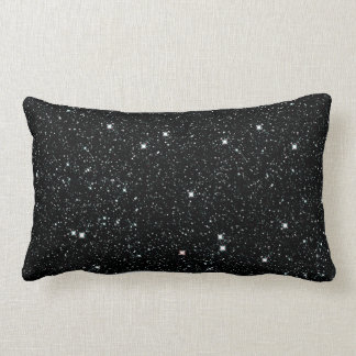 TWINKLE, TWINKLE, LITTLE STARS (outer space) ~ Lumbar Cushion