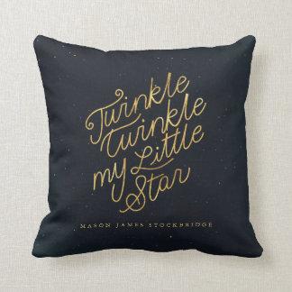 Twinkle twinkle my little star cushion