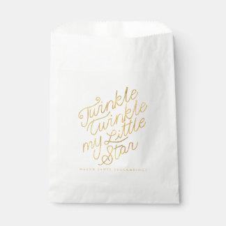 Twinkle twinkle my little star favour bags
