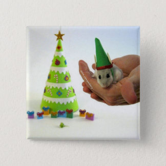 Twinkletoes the Elf! 15 Cm Square Badge