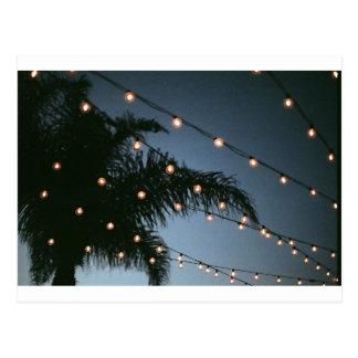 Twinkling Lights Postcard