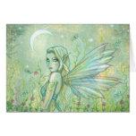 Twinkling Night Fairy Greeting Card