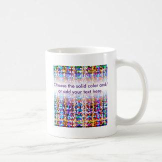 Twinkly Lights Faded Coffee Mug
