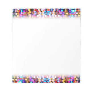 Twinkly Lights Faded Notepad