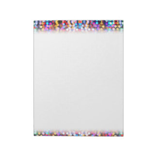 Twinkly Lights Faded Notepads