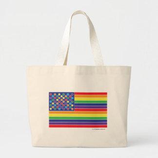 Twinkly Rainbow Flag Bag