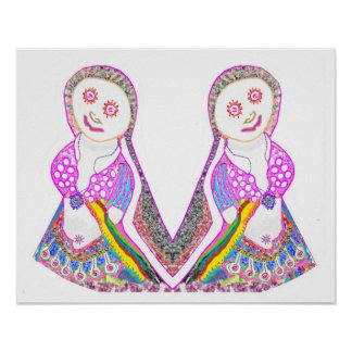 Twinky Pinky Doll Dancing Girls 2 Poster