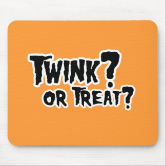 TWINNK OR TREAT.png Mouse Pad